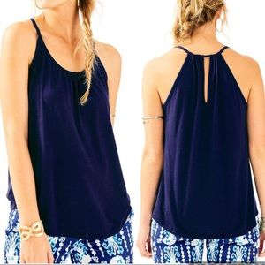 Lilly Pulitzer | The Lacy Tank Top in Navy